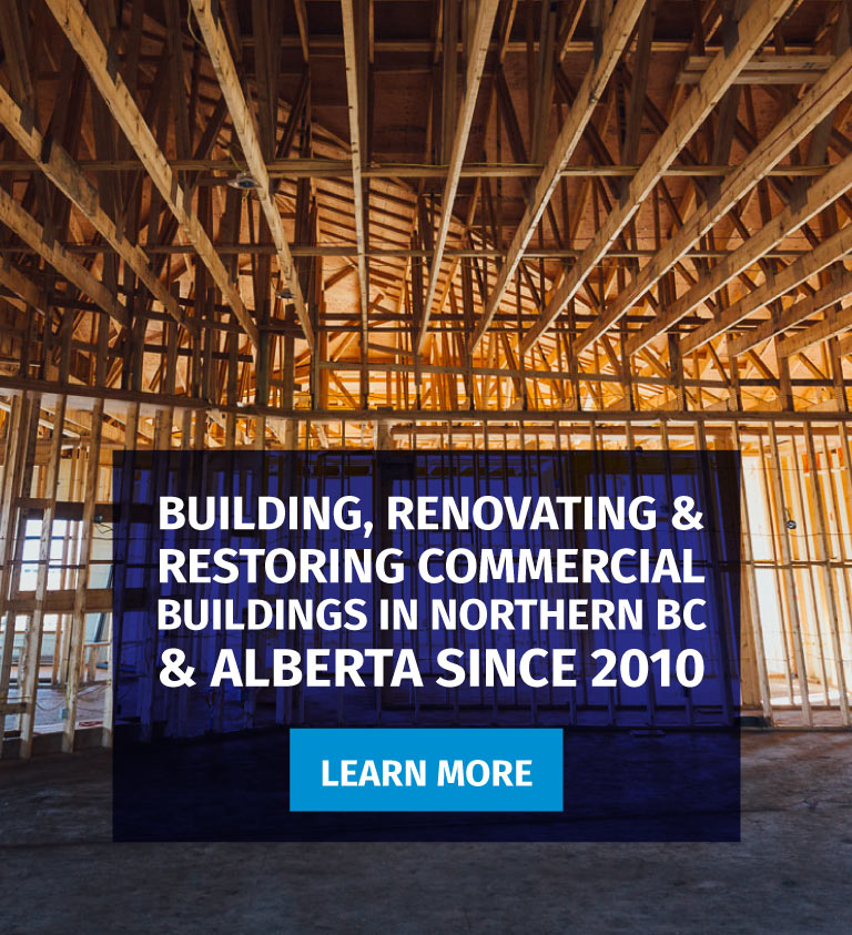Commercial Contractor in Dawson Creek, BC